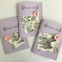 Once Upon a Flower Card